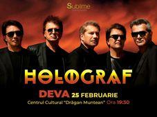 Concert extraordinar HOLOGRAF @ Deva