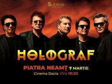 Concert extraordinar HOLOGRAF @ Piatra Neamt