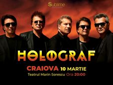 Concert extraordinar HOLOGRAF @ Craiova