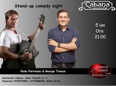 Stand-up comedy & parodii muzicale cu Radu Pietreanu & George Tanase