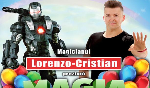 """""""Magia Copilariei""""- Spectacol pentru copii, cu Magicianul Lorenzo-Cristian: Cluj-Napoca"""