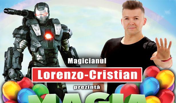 """""""Magia Copilariei""""- Spectacol pentru copii, cu Magicianul Lorenzo-Cristian - Deva"""
