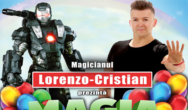 """Magia Copilariei""- Spectacol pentru copii, cu Magicianul Lorenzo-Cristian: Brasov"