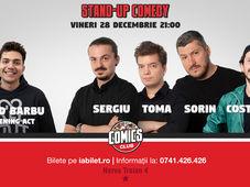 Stand Up Comedy cu Sorin, Toma, Sergiu & Costel la Comics Club