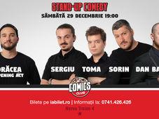 Stand Up Comedy cu Sorin, Toma, Sergiu & Dan Badea la Comics Club