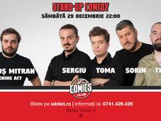 Stand Up Comedy cu Sorin, Toma, Sergiu & Teo la Comics Club