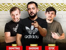 Londra: Stand Up Comedy iUmor cu Dumitras, Gherghe si Istoc!