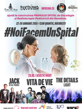 #NoiFacemUnSpital – Acoustic Night