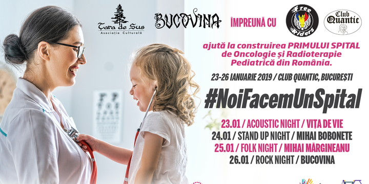 #NoiFacemUnSpital - Stand up night