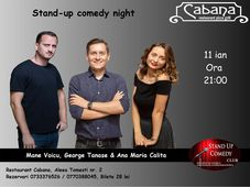Stand Up Comedy cu George Tanase, Mane Voicu & Ana Maria Calita