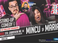 Stand-up Comedy cu Banciu, Mincu si Maria Popovici