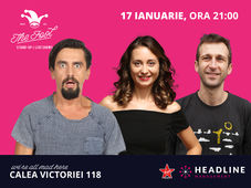 The Fool: Stand-up comedy cu Natanticu, Radu Isac & Ana-Maria Calița