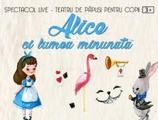 Alice și lumea minunată la Clubul Taranului