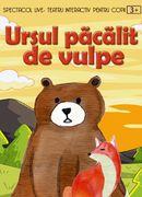 Ursul pacalit de vulpe la Clubul Taranului