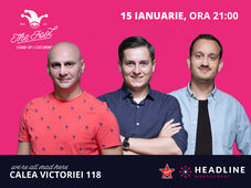 The Fool: Stand-up comedy cu Dan Țuțu, George Tănase & Mane Voicu