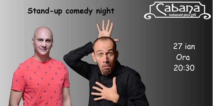 Stand Up Comedy cu Țuțu & Ilie AKA Varza