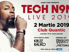 Tech N9ne - Live 2019 pe 2 Martie