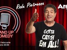 Stand up comedy cu Radu Pietreanu