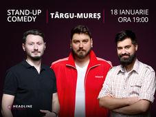 Târgu Mureș: Stand-up comedy cu Micutzu, Claudiu Popa & Geo