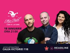 The Fool: Stand-up comedy cu Bordea, Badea & Ioana State