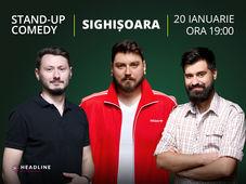 Sighișoara: Stand-up comedy cu Micutzu, Claudiu Popa & Geo