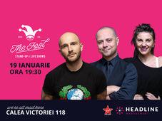 The Fool: Stand-up comedy cu Bordea, Badea & Teodora Nedelcu 1