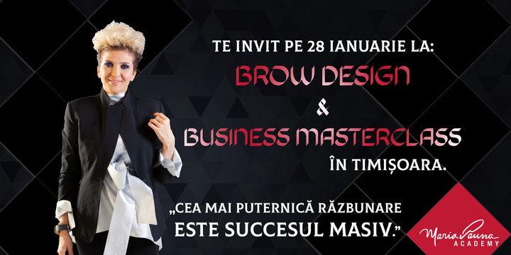 Cursul Brow Design & Business MasterClass