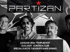 """Partizan - Lansare vinil """"Timpuri Noi"""""""