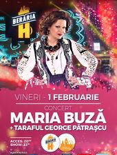 Concert Maria Buză si Taraful George Pătrașcu