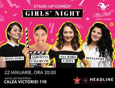 Stand-up comedy: Girls night cu Ana-Maria, Loredana Ungureanu, Ioana State & Luiza