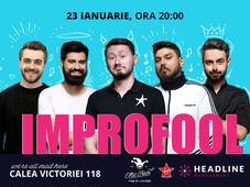 ImproFool cu Micutzu, Bucălae, Geo, Claudiu & Cătălin Coșarcă