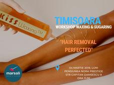 Workshop Waxing & Sugaring Timisoara