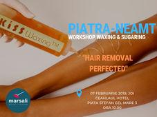 Workshop Waxing & Sugaring Piatra Neamt