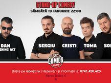 Stand Up Comedy cu Sorin, Sergiu, Toma & Cristi
