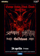 Cluj-Napoca: Concert Suffocation, Belphegor & God Dethroned