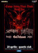 Bucuresti: Concert Suffocation, Belphegor & God Dethroned