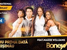 Concert Boney M feat Maizie Williams