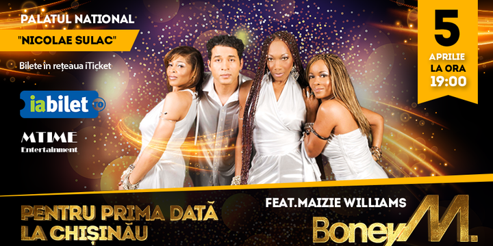 Concert Boney M feat Maizie Williams