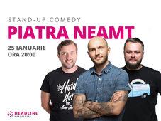 Piatra Neamț: Stand-up comedy cu Bordea, Bobi & Nelu Cortea