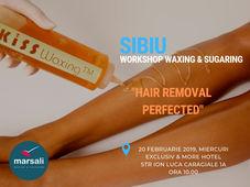 Workshop Waxing & Sugaring Sibiu