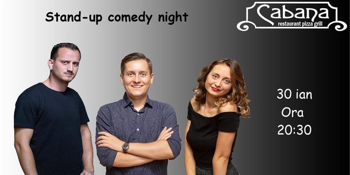 Stand Up Comedy cu George Tanase, Mane Voicu & Ana Maria Calita