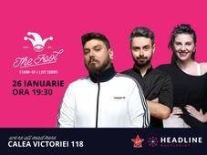 The Fool: Stand-up comedy cu Micutzu, Bucălae & Teodora Nedelcu