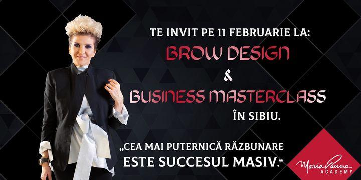 Brown Design & Business Masterclass In SIBIU