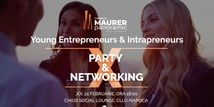 Young Entrepreneurs & Intrapreneurs Party & Networking