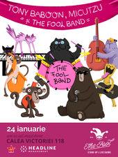 The Fool: Impro Music Session - Tony Baboon, Micutzu şi The Fool Band