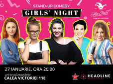 Stand-up comedy: Girls night 2 cu Anisia, Doina, Teodora, Geo Doba & Elena Voineag