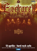 Bucuresti: Concert Evergrey la Hard Rock Cafe