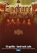 Bucuresti: Concert Evergrey la Hard Rock Cafe