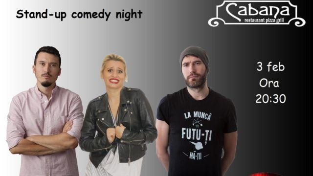Stand Up Comedy cu Anisia Gafton, Serghei & Adi Bobo