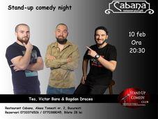 Stand Up Comedy cu Teo, Victor Bara & Bogdan Dracea